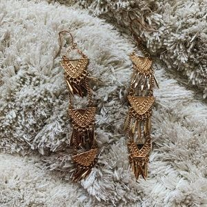 American Eagle Gold Earrings